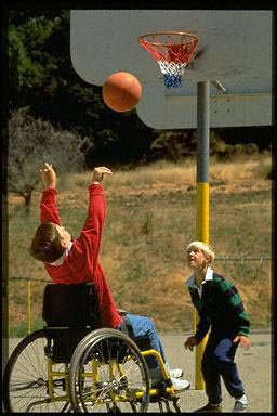 USA, exercise, basketball, sport, wheelchair, disabled sport, disabled, children, fun