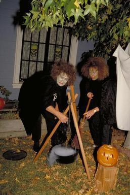 witches, Halloween, Oakland, California, scary, frightening