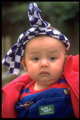 Japanese-American, baby,