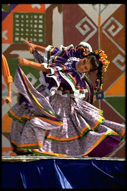 ceremony, Cinco de Mayo, Hispanic girl, Mexican Americans, pride, traditional dress, traditional dance