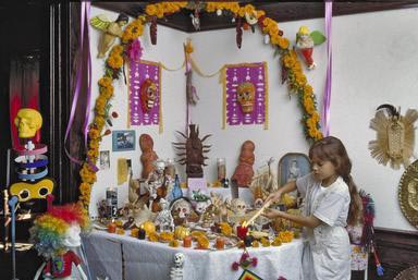 day of the dead, hispanic, hispanic celebration, Sacramento, California, Day of the Dead, altar